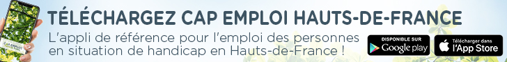 CAP EMPLOI HAUTS-DE-FRANCE, l'application à télécharger !